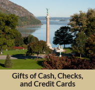 Gifts of Cash, Check, and Credit Cards Rollover